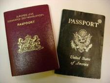 twee paspoorten