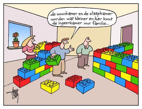 Denemarken cartoon Arend van Dam VertrekNL